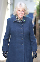 05/02/2020 - Camilla Duchess of Cornwall arrives for a visit to Barnardo's Child and Sexual Abuse and Exploitation Services in north London. Photo Credit: ALPR/AdMedia