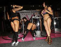 Alby Rydes, Luna Star, Veronica Rodriguez at Exxxotica Atlantic City, NJ, <br /> Friday April 11, 2014.
