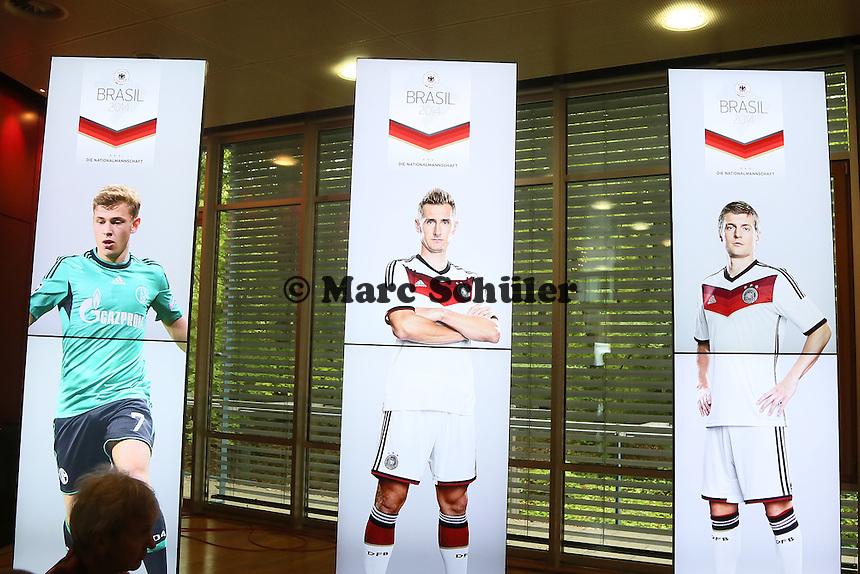 DFB Kadernominierung für die WM 2014