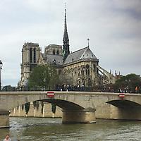 2017 Notre Dame Cathedral, Paris
