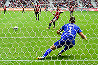 but sur penalty de Nicolas De Preville (Losc) <br /> Lille - Nantes 06-08-2017 <br /> Calcio Ligue 1 2017/2018 <br /> Foto Panoramic/insidefoto