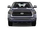 Car photography straight front view of a 2018 Toyota Tundra TRD Sport Crew Cab 4 Door Pick Up