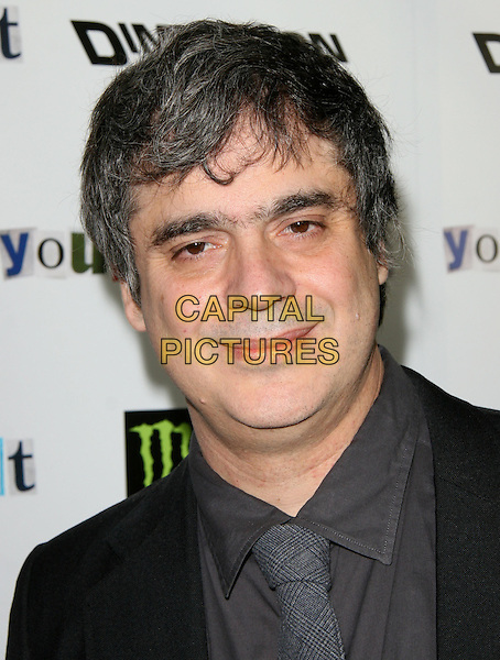 MIGUEL ARTETA .The Weinstein Company Film premiere of ''Youth In Revolt'' held at The Mann Chinese 6 Theatre in Hollywood, California, USA..January 6th, 2010.headshot portrait grey gray black.CAP/RKE/DVS.©DVS/RockinExposures/Capital Pictures.