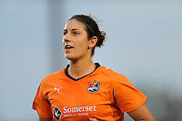 Yael Averbuch (13) of Sky Blue FC. Sky Blue FC defeated the Chicago Red Stars 1-0 in a Women's Professional Soccer (WPS) match at Yurcak Field in Piscataway, NJ, on April 11, 2010.