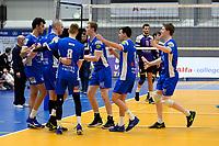 GRONINGEN - Volleybal, Lycurgus - VoCASA, Eredivisie, seizoen 2018-2019, 26-01-2019, Lycurgus viert de 3-0 zege