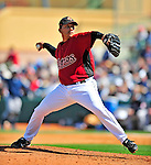 2 March 2009: Houston Astros' pitcher Russ Ortiz on the mound during a Spring Training game against the New York Yankees at Osceola County Stadium in Kissimmee, Florida. The teams played to a 5-5, 9-inning tie. Mandatory Photo Credit: Ed Wolfstein Photo