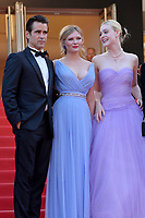 www.acepixs.com<br /> <br /> May 24 2017, Cannes<br /> <br /> (L-R) Colin Farrell, Kirsten Dunst, and Elle Fanning arriving at the premiere of 'The Beguiled' during the 70th annual Cannes Film Festival at Palais des Festivals on May 24, 2017 in Cannes, France.<br /> <br /> By Line: Famous/ACE Pictures<br /> <br /> <br /> ACE Pictures Inc<br /> Tel: 6467670430<br /> Email: info@acepixs.com<br /> www.acepixs.com