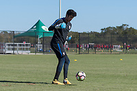 Lakewood Ranch, FL - Sunday Jan. 07, 2018: Justin Garces during an U-19 USMNT training session at Premier Sports Campus in Lakewood Ranch, FL.