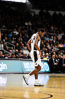 Wednesday, January 4, 2016: Providence Friars guard Kyron Cartwright (24) during a break in the action at the NCAA basketball game between the Georgetown Hoyas and the Providence Friars held at the Dunkin Donuts Center, in Providence, Rhode Island. Providence defeats Georgetown 76-70 in regulation time. Eric Canha/CSM