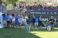 Lucas Herbert (AUS) in action on the 6th during the Matchplay Semi-Final of the ISPS Handa World Super 6 Perth at Lake Karrinyup Country Club on the Sunday 11th February 2018.<br /> Picture:  Thos Caffrey / www.golffile.ie<br /> <br /> All photo usage must carry mandatory copyright credit (&copy; Golffile   Thos Caffrey)