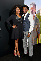 LOS ANGELES, CA. September 13, 2018: Kelly Jenrette &amp; Melvin Jackson Jr. at the premiere for &quot;Life Itself&quot; at the Cinerama Dome.<br /> Picture: Paul Smith/Featureflash
