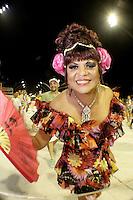 SÃO PAULO, SP, 05 JANEIRO DE 2013 - CARNAVAL 2013 - ENSAIO TECNICO X-9 PAULISTANA - Ala de destaques - Ensaio tecnico da Escola de Samba X-9 Paulistana realizado na noite  desse sabado, 05 no Sambodromo do Anhembi, em Sao Paulo, zona norte da capital. FOTO LOLA OLIVEIRA - BRAZIL PHOTO PRESS