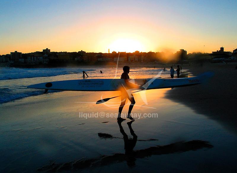 Paddle Board training at North Bondi.