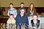 Kerry Athletics Awards Night : Club award winners were in front : Niakk Carey, Star of the Laune, Laim O'Connell. Iveragh & Natasha Myers, Farranfore Maine Valley. Back : David Kenny, Farranfore Maine Valley, Michael devlin, Spa Muckross & Eimear O'Donovan, Iveragh.