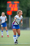 Mannheim, Germany, September 07: During the field hockey Bundesliga match between Mannheimer HC and Harvestehuder THC on September 7, 2019 at Am Neckarkanal in Mannheim, Germany. Final score 2-0. (Photo by Dirk Markgraf / www.265-images.com) *** Isabella Schmidt #31 of Mannheimer HC