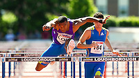 23 MAY 2010 - LOUGHBOROUGH, GBR - Will Sharman (Loughborough University) - Mens 110m Hurdles -  Loughborough International Athletics (PHOTO (C) NIGEL FARROW)