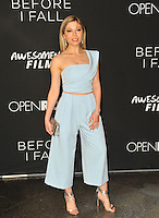 www.acepixs.com<br /> <br /> March 1 2017, LA<br /> <br /> Jennette McCurdy arriving at the premiere of 'Before I Fall' at the Directors Guild Of America on March 1, 2017 in Los Angeles, California<br /> <br /> By Line: Peter West/ACE Pictures<br /> <br /> <br /> ACE Pictures Inc<br /> Tel: 6467670430<br /> Email: info@acepixs.com<br /> www.acepixs.com