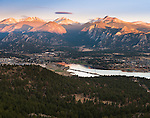 morning in the Rocky Mountains above Estes Park, Colorado, USA