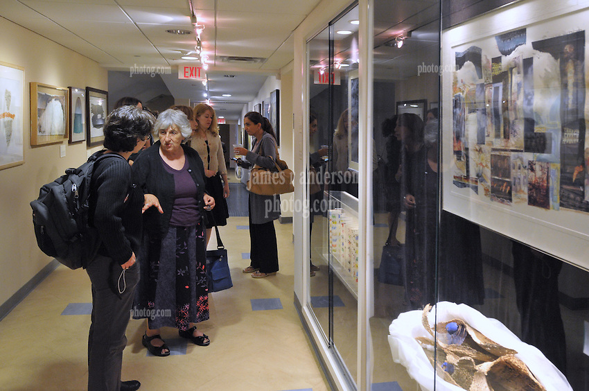 Breaking The Veil Art Exhibit, Opening Reception 08 September 2009, at the Yale Divinity School.