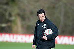 040213 Wales v Austria football training