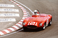 August 26th 1984, Laguna Seca Raceway, CA. 1955 Ferrari 121 LM. This is the largest concentration of Ferrari, more than 3.000 models and proud owners show their cars and race with them.