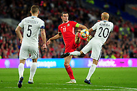 Gareth Bale of Wales in action during the UEFA Euro 2020 Qualifier match between Wales and Azerbaijan at the Cardiff City Stadium in Cardiff, Wales, UK. Friday 06, September 2019