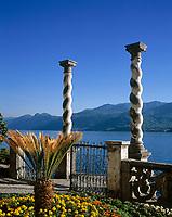 ITA, Italien, Lombardei, Comer See, Varenna: im Park der Villa Monastero | ITA, Italy, Lombardia, Lake Como, Varenna: at Park of Villa Monastero