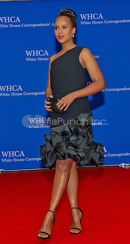 Kerry Washington arrives for the 2016 White House Correspondents Association Annual Dinner at the Washington Hilton Hotel on Saturday, April 30, 2016.<br /> Credit: Ron Sachs / CNP<br /> (RESTRICTION: NO New York or New Jersey Newspapers or newspapers within a 75 mile radius of New York City)/MediaPunch