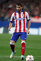 Atletico de Madrid´s Raul Garcia during Champions League soccer match between Atletico de Madrid and Olympiacos at Vicente Calderon stadium in Madrid, Spain. November 26, 2014. (ALTERPHOTOS/Victor Blanco) /NortePhoto