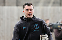 Everton's Michael Keane arrives ahead of kick-off at Turf Moor<br /> <br /> Photographer Rich Linley/CameraSport<br /> <br /> The Premier League - Burnley v Everton - Saturday 5th October 2019 - Turf Moor - Burnley<br /> <br /> World Copyright © 2019 CameraSport. All rights reserved. 43 Linden Ave. Countesthorpe. Leicester. England. LE8 5PG - Tel: +44 (0) 116 277 4147 - admin@camerasport.com - www.camerasport.com