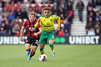 Max Aarons of Norwich City under pressure from Ryan Fraser of Bournemouth during the Premier League match between Bournemouth and Norwich City at Goldsands Stadium on October 19th 2019 in Bournemouth, England. (Photo by Mick Kearns/phcimages.com)<br /> Foto PHC/Insidefoto <br /> ITALY ONLY