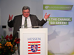 """Brussels - Belgium, December 10, 2014 -- """"Will Europe Fail? Joschka Debates Europe."""" a presentation of a book written (published) by and discussion with Joschka Fischer, the Green former Vice-Chancellor and Foreign Affairs Minister of Germany, organized by the European Green Party at the Representation of the State of Hessen to the EU ; here, moderator Reinhard Bütikofer MEP, Co-Chair of the European Green Party;<br /> Photo: © HorstWagner.eu"""