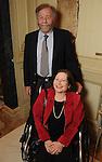 Caren and David Cowan at a dessert reception for Louis Gossett Jr. and the Anti-Defamation League at Chateau Carnarvon Tuesday Nov. 11, 2014.(Dave Rossman photo)
