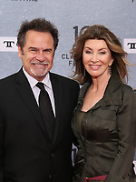 Los Angeles CA Apr 11: Dennis Miller, Carolyn Espley, arrive to 2019 TCM Classic Film Festival Opening Night Gala And 30th Anniversary Screening Of &quot;When Harry Met Sally&quot;, TCL Chinese Theatre, Los Angeles, USA on April 11, 2019 <br /> CAP/MPI/FS<br /> &copy;FS/MPI/Capital Pictures