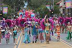 Santa Barbara, CA.  Summer Solstice Parade.  June 22, 2019