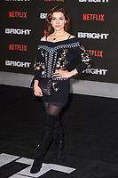 "Amber Rose Revah<br /> arriving for the ""Bright"" European premiere at the BFI South Bank, London<br /> <br /> <br /> ©Ash Knotek  D3364  15/12/2017"