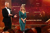 Rainer Maria Salzgeber & Sandra Studer - Credit Suisse Sports Awards 2018