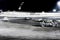 Demolition Derby, Ventura County Fair, Ventura, California, United States of America. July 2008, ©Stephen Blake Farrington