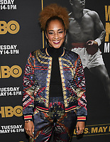 "08 May 2019 - Los Angeles, California - Amanda Seales. ""What's My Name: Muhammad Ali"" HBO Premiere held at Regal Cinemas LA LIVE 14. Photo Credit: Billy Bennight/AdMedia"