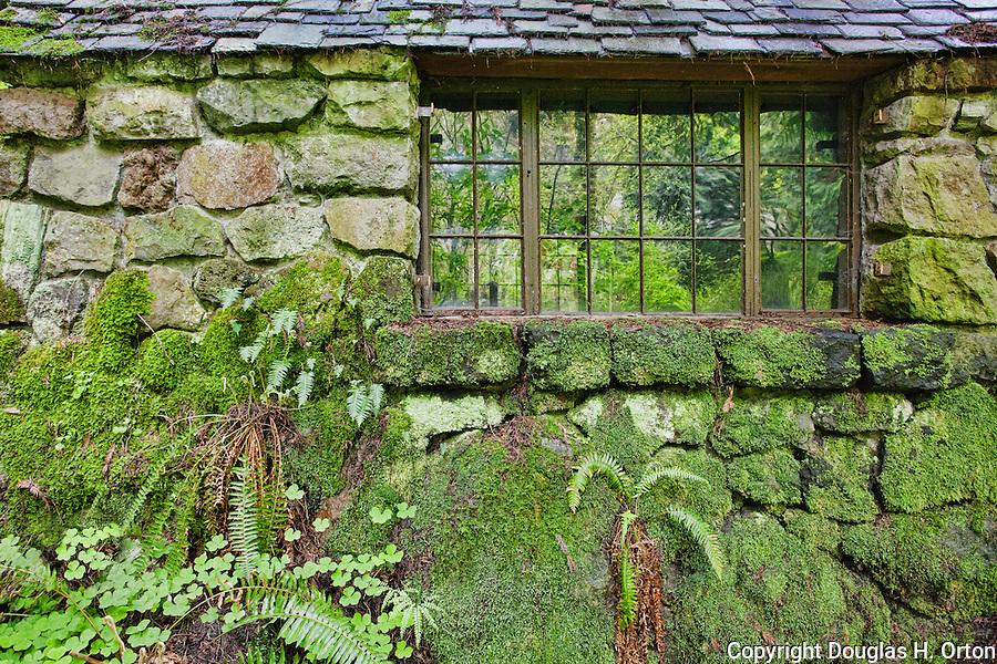 Leach Botananical Garden, Portland, Oregon, USA. A public facility ...