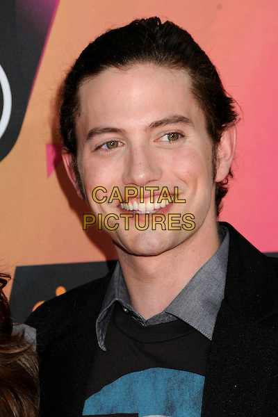 JACKSON RATHBONE.at the 23rd Annual Nickelodeon Kids' Choice Awards 2010 held at Pauley Pavilion in Westwood, California, USA, March 27th 2010 .arrivals kids portrait headshot smiling black grey gray.CAP/ADM/BP.©Byron Purvis/Admedia/Capital Pictures