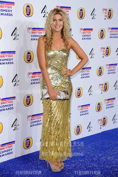 Francesca Hull arriving for the British Comedy Awards 2011 at Fountains Studios, Wembley, London. 19/12/2011 Picture by: Steve Vas / Featureflash