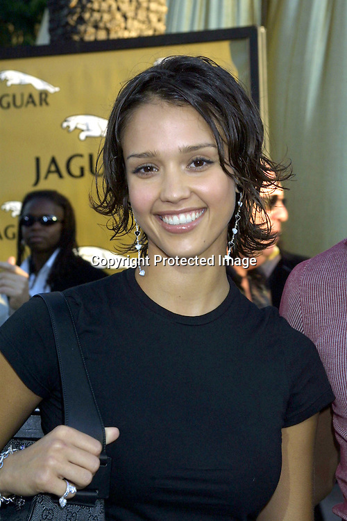 ©2002 KATHY HUTCHINS / HUTCHINS PHOTO.7/22/02.GOLDMEMBER PREMIERE.THE THIRD AUSTIN POWERS MOVIE.UNIVERSAL AMPHITHEATER.UNIVERSAL CITY, CA.JESSICA ALBA
