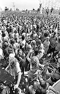 "28 Jul 1973, Watkins Glen, New York State, USA --- 600,000 people came to Watkins Glen during the ""Summer Jam"". --- Image by © JP Laffont/Sygma/Corbis"