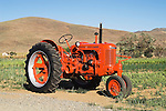 Restored tractor collection of Ron Smith along the Carson River.Restored tractor collection of Ron Smith along the Carson River...1948 Case SC (Flambeau orange)