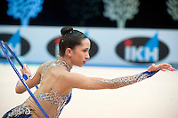 February 26, 2016 - Espoo, Finland - NETA RIVKIN of Israel performs at Espoo World Cup 2016.