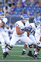 Sept 20, 2014:  Georgia State's A.J. Kaplan against Washington.  Washington defeated Georgia State 45-14 at Husky Stadium in Seattle, WA.