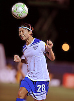 Aya Sameshima    Boston Breakers vs. MagicJack at the FAU Field  Boca Raton, FL August 17, 2011 WPS First Round Playoffs