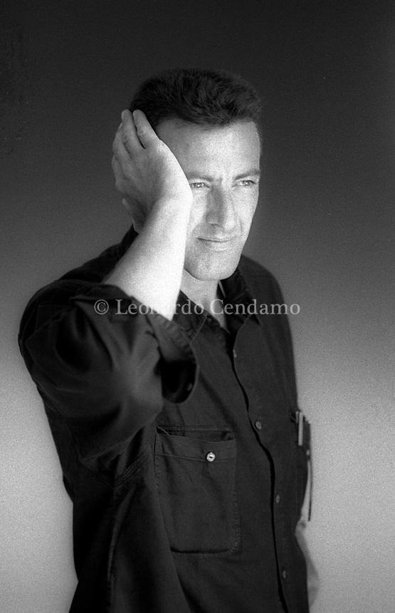 Luca Barbareschi (born 28 July 1956 in Montevideo) is an Italian-Uruguayan actor, television presenter, and former member of the Italian Chamber of Deputies. Lido 5 september 1993. © Leonardo Cenndamo