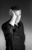 Luca Barbareschi (born 28 July 1956 in Montevideo) is an Italian-Uruguayan actor, television presenter, and former member of the Italian Chamber of Deputies. Lido 5 september 1993. © Leonardo Cenndamo
